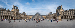 The Louvre panorama