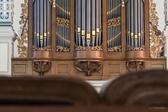 Orgel en kanselbijbel, Plantagekerk Zwolle