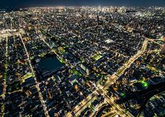 東京スカイツリー:天望デッキ - 夜景