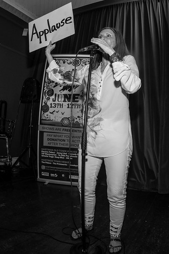 Sonia Aste at Hastings Fringe Comedy Festival 2018
