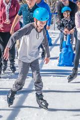Callum on ice