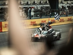 Toyota at the Finish - Le Mans 2018