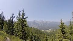 Sicht auf den Skiberg von Fernie, ohne Powder :-(