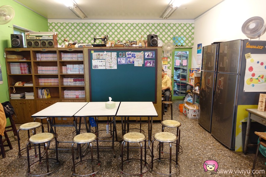 [台中美食]第五市場特輯.第八攤.樂群冷凍芋~古早味文青風格冰果室 @VIVIYU小世界