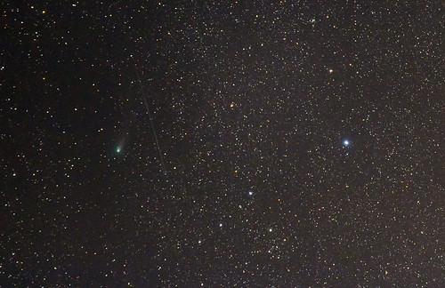 2018 Perseid with Comet 21P crop