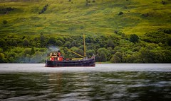 Steamship on Loch Oigh