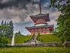 Photo:噴水庭園から平和大塔 I By