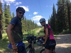 Great Divide Trail vor dem Elk Pass