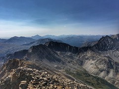 Looking south from the Huron Peak summit