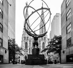 Atlas Statue, oft of sieht from Rockefeller Center