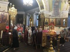 Изнесение честных древ Креста Господня