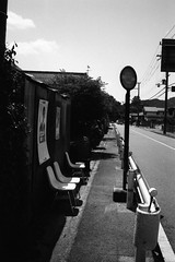 バス停 stop