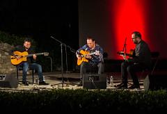 Mozes Rosenberg Stochelo Rosenberg i Mate Matesic_foto Emanuela Tomino