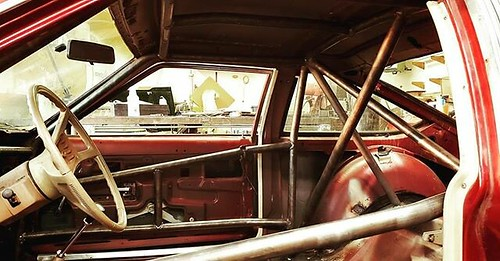 Helped build a roll cage in a day. #24ho by Christopher Blizzard, on Flickr