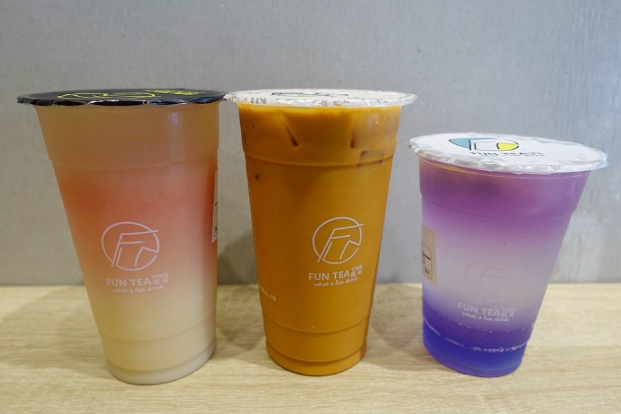 Fun Tea瘋茶,中正藝文特區,搖茶店,桃園美食,桃園茶飲,紫光檸檬凍飲 @VIVIYU小世界