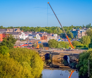 Navan New Bridge - Steelwork