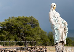 Northern New Mexico - Truchas, NM cemetery