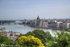 Budapest landscape.