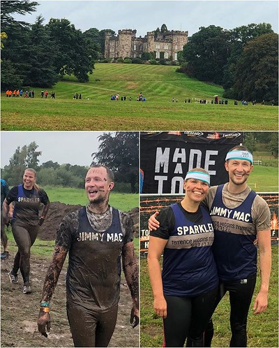 Today is all about...watching friends at Tough Mudder