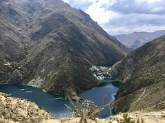 Wasserfälle kurz vor Huancaya