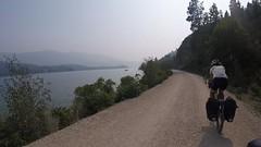 Brandneue Trail von Vernon in Richtung Kelowna