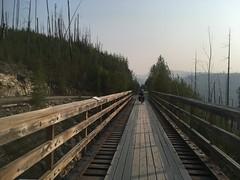 Trestle beim Myra-Trail