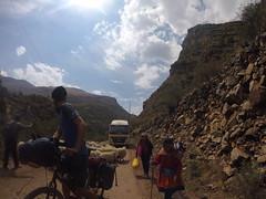 Busy Road auf dem Weg nach San Miguel
