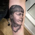 Portrait tattoo by David Gray at Mr Grays Tattoo Studio