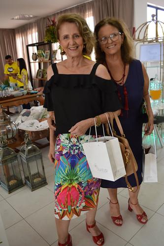 Celina Franco e Milene Coelho