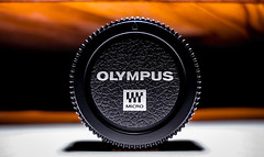 Body cap, Olympus.