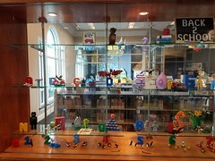 Smithville Mid-Continent Library Back to School Display