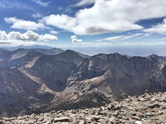 View to the southwest from the Humboldt Peak summit