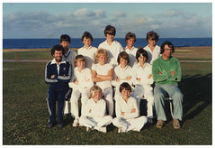 Williamstown CYMS Cricket Club - c1979 - Under 12s