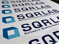 SQR Lab Laptop Decals