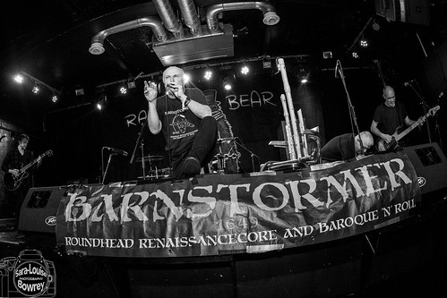 Atila the Stockbroker & Barnstormer at Ragged Bear 2018