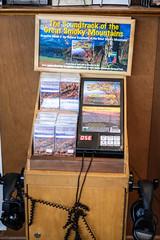 Cassette tape audio tour station