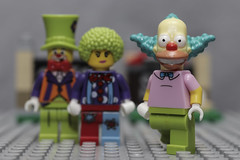 Krusty and friends