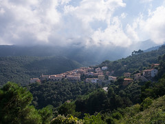 View on Marciana Alta, Elba