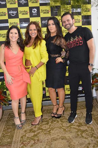 Alessandra Nogueira, da Cash, Jackie, da Parafernália, Suellen, da Plenitude, e Rodrigo Rodrigues