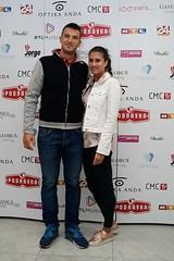 Valent Sinkovic sa suprugom
