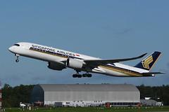 9V-SMO Airbus A350-941 EGCC 23-09-18