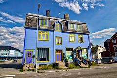 """Norwegen - Sortland (""""Die blaue Stadt"""")"""