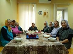 День пожилого человека на приходе Троицкого храма деревни Павлино