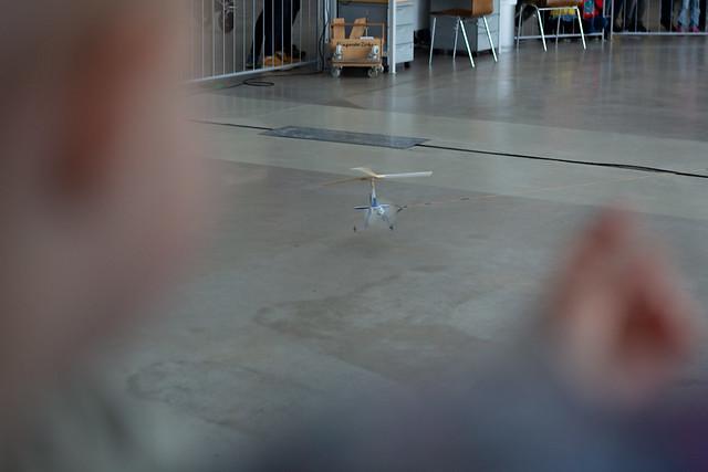 Flieg, kleiner Tragschrauber