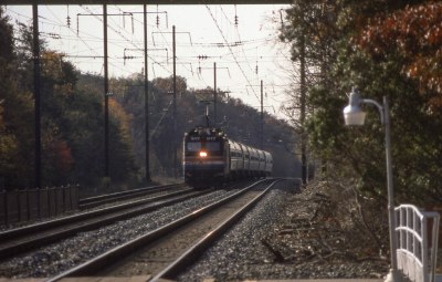 19931108 24 Amtrak Patriot, Odenton, MD