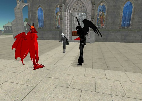 Second Life: Epiphany: Build a Cathedral, and the Angels and Devils will Confer