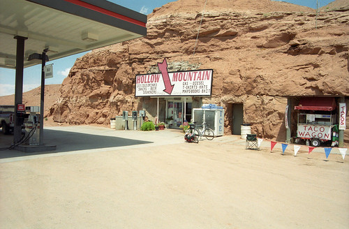 Hollow Mountain - The Gas Station in a Cave