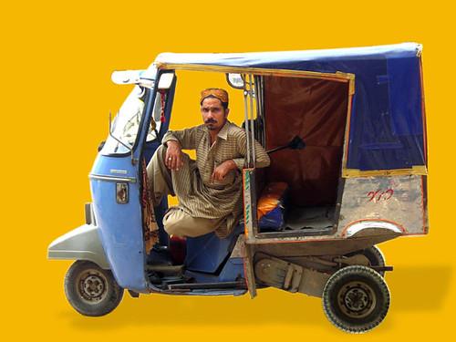 Rickshaw - photograph Vidha Saumya