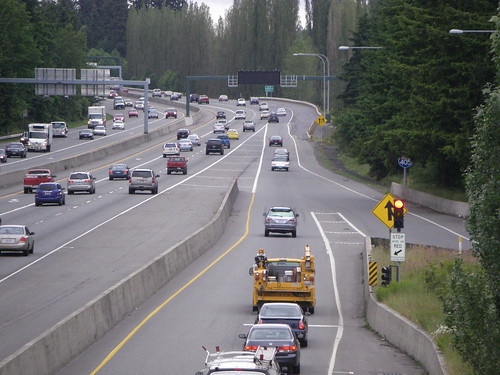 I-405 northbound auxiliary lane opening