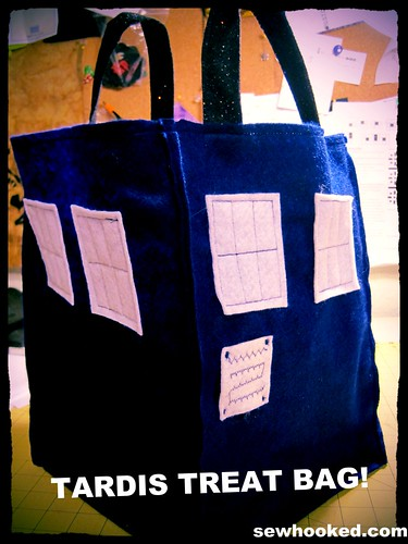 TARDIS treat bag tutorial